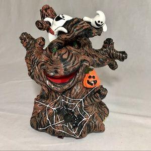 Scary Halloween Wacky Tree Wiggler Sonic Activates